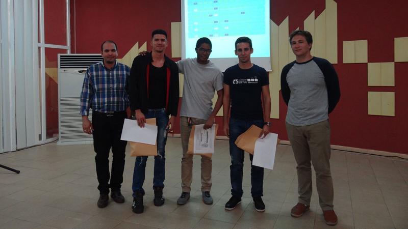 Team KFP from Marta Abreu University of Las Villas.