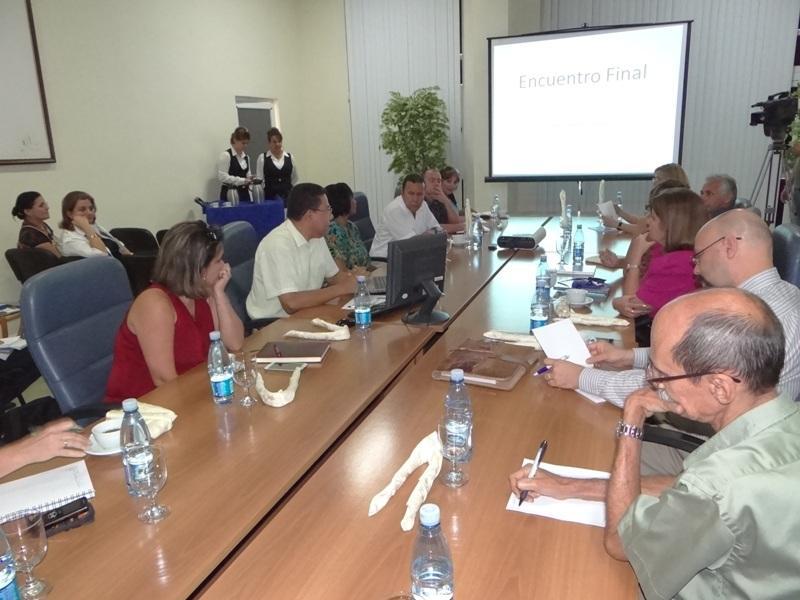 El objetivo de este encuentro fue concluir el reconocimiento de posibilidades de intercambio entre instituciones cubanas y la Fundación Ciudad del Saber