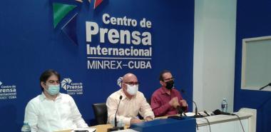 Conferencia de prensa del MES