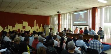 Efectúan en la UCI Reunión Nacional para el perfeccionamiento de las disciplinas de Historia de Cuba y Marxismo-Leninismo. Foto: Foto Juan Félix Hernández Rodríguez