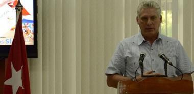 Asiste Díaz-Canel a clausura de Taller Nacional de Informatización y Ciberseguridad
