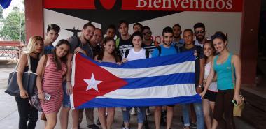 Participantes en el avispero digital en la UCI Voto #PorCuba