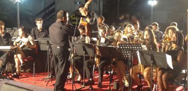 Concierto de la orquesta juvenil Jazz Band del Conservatorio Amadeo Roldán en la UCI