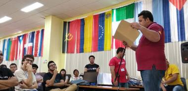 Dovier A. Ripoll recognized the areas or directions that supported the organization and implementation of the Camp.