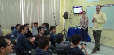 Intercambio con profesionales de ITMO University durante X Campamento Caribeño de Entrenamiento ACM-ICPC