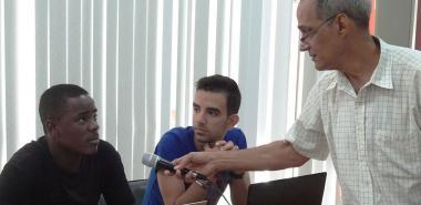 Santiago León Martínez, intercambió con los estudiantes de la UCI acerca del aporte que pueden ofrecer ante el escenario de la Tarea Vida