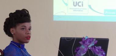 Laritza, defendió su trabajo de Diploma: Estrategia para la implementación de la plataforma cubana de Gestión Documental y Archivística en el Sistema Nacional de Archivos.