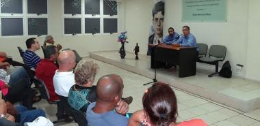 Profesor de Teoría Sociopolítica de la UH ofrece conversatorio en la UCI, a propósito del referendo constitucional en Cuba del próximo 24 de febrero