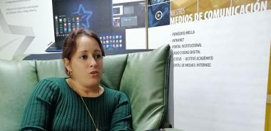 La MSc. Ariagna González Landeiro aborda detalles del proceso para la votación de la nueva constitución