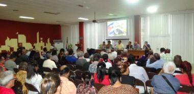 La clausura de la Reunión Nacional de profesores de Historia de Cuba y Marxismo-Leninismo del MES, evidenció el empeño de trabajar para mejorar la impartición de estas asignaturas. Foto: Juan Félix Hernández Rodríguez