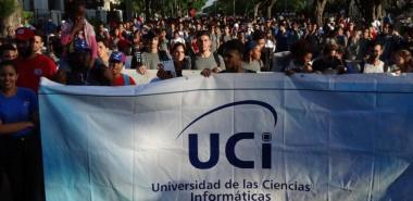 La UCI desfiló este 1ro. de Mayo por la unidad, soberanía y la Revolución