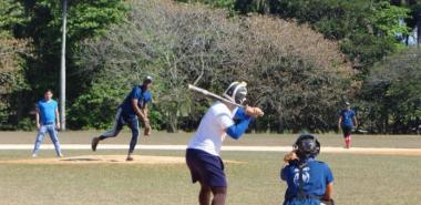 Juego de béisbol entre la Facultad 1 y la Facultad 3