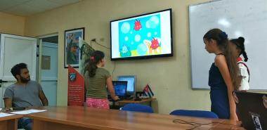 """Niños proyecto """"Yo quiero programar"""" de la UCI defendieron sus proyectos finales de programación"""