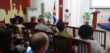 Epidemióloga del IPK, Dra. Gisela Toledo Rodríguez, impartió conferencia en la Universidad sobre el COVID-19