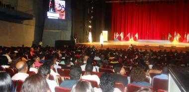 Ceremonia de apertura de la 33ª Reunión Latinoamericana de Matemática Educativa