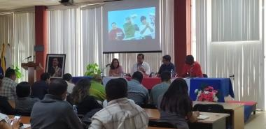 El conversatorio realizado este viernes se inscribe en la jornada de homenajes de la UCI al líder de la Revolución Bolivariana de Venezuela
