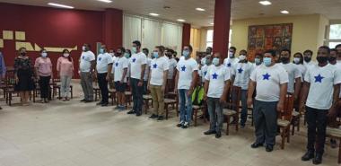 La Universidad de las Ciencias Informáticas cuenta con una vanguardia juvenil dispuesta a darlo todo por la Revolución. Foto: Evelio Antonio Piedra Cueria