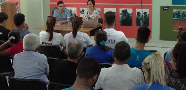 Inicia Seminario Juvenil de Estudios Martianos, en la UCI