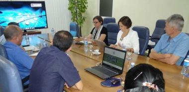 Intercambian directivos de la UCI y la Universidad de Hasselt, Bélgica