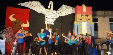 Festival de Artistas Aficionados de la Facultad 3.