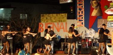 Gala del Festival de Artistas Aficionados de la Facultad 4, dedicado a la Bienal de La Habana