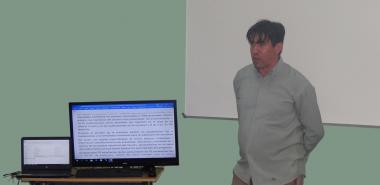 El coordinador de la Maestría, Dr.C. Pedro Yobanis Piñero Pérez, analizó los tópicos referentes al cierre de la cuarta edición de este programa de posgrado