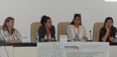 """Una de las sesiones del VIII Taller Internacional de Calidad en las Tecnologías de la Información y las Comunicaciones """"Calidad 2018″"""
