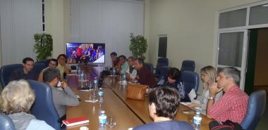 Visitaron la Universidad especialistas de la Oficina del Historiador de la Ciudad de La Habana