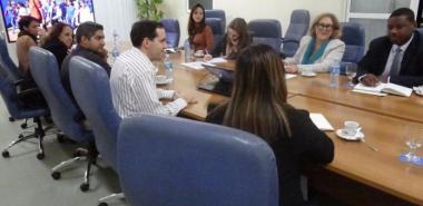 Especialistas de la Unesco visitaron en la jornada de este viernes la UCI. Foto: Abel Castillo Noriega