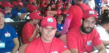 Lester Collado Rolo participó en el XXI Congreso de la CTC en representación de la UCI.