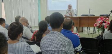 """La conferencia """"Diseño de situaciones de aprendizaje para la inclusión"""", del Dr.C. Ricardo Cantoral, fue ampliamente debatida"""