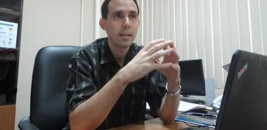 Ph.D. Raydel Montesino Perurena at the University of Informatics Sciences