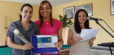 Yenlys Guerra Dávila, egresada de la primera graduación de la Academia Cisco-UCI