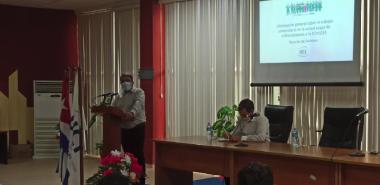 El Dr.C. Walter Baluja García, enunció el aporte decisivo de este colectivo en la batalla por la vida.