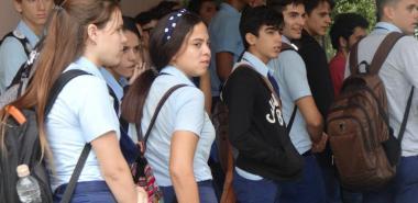 Día de las Puertas Abiertas en la UCI para estudiantes del IPVCE Mártires de Humboldt 7. Foto: Juan Félix Hernández Rodríguez