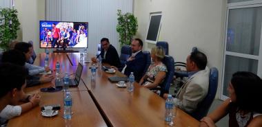 Visitan la UCI miembros de la Red de Jueces en Croacia.