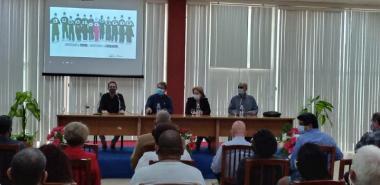 Los directivos que presidieron el encuentro manifestaron el compromiso de continuar trabajando para alcanzar resultados superiores.