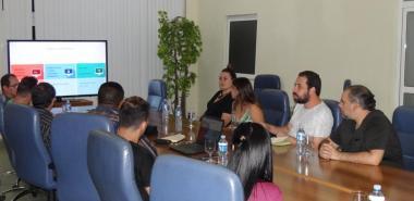 Visitan la Universidad miembros del Movimiento de Trabajadores sin Techo y del Frente Pueblo Sin Medio. Foto: Juan Félix Hernández Rodríguez