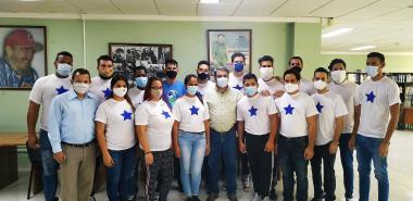 Jóvenes de la UCI enarbolan el pensamiento antimperialista de Fidel en el Encuentro Internacional Juvenil Ideas que son Banderas.