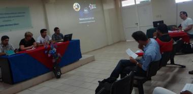 Este 13 de junio sesionaron las comisiones de trabajo previas al balance de la Unión de Jóvenes Comunistas en la UCI