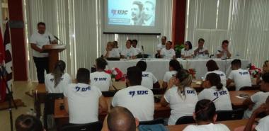 En el balance de la UJC de la UCI se desmostró que en los hombros de los jóvenes se puede depositar grandes tareas