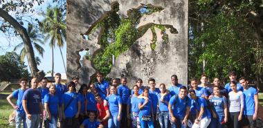 Estudiantes de la Facultad Introductoria se reencuentran con la historia