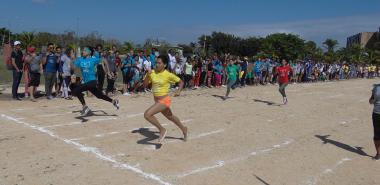 Finals in the XIV Mella Games.