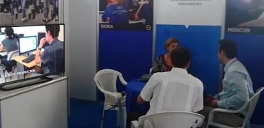 Presenta la UCI cartera de productos y servicios en Fihav 2016