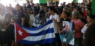 School 1 affirms fidelity to the Revolution and to the ideals of Fidel